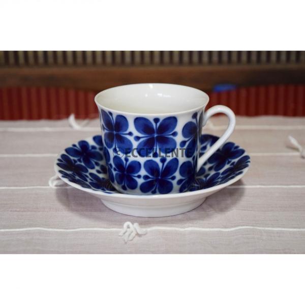 【北欧ヴィンテージ】【ロールストランド】モナミ コーヒーカップ&ソーサー eccellente