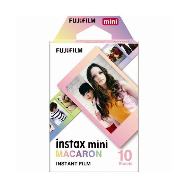 富士フイルム instax mini チェキ用フィルム マカロン
