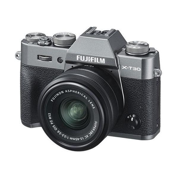 ミラーレス一眼カメラ FUJIFILM X−T30(チャコールシルバー) 富士フイルム FUJIFILMXT30XC1545