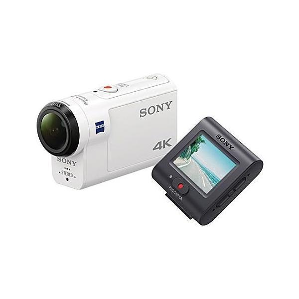ソニー FDR-X3000R デジタル4Kビデオカメラレコーダー ライブビューリモコンキット アクションカム
