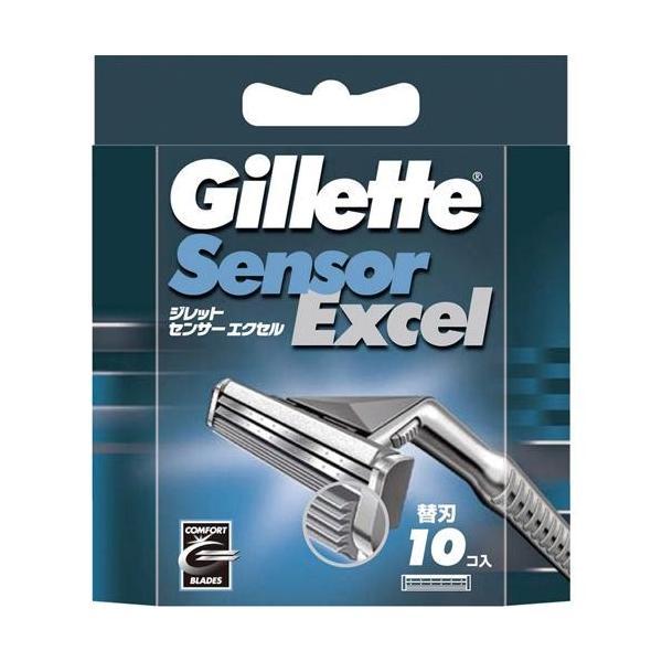 P&G ジレット センサーエクセル専用替刃10個入