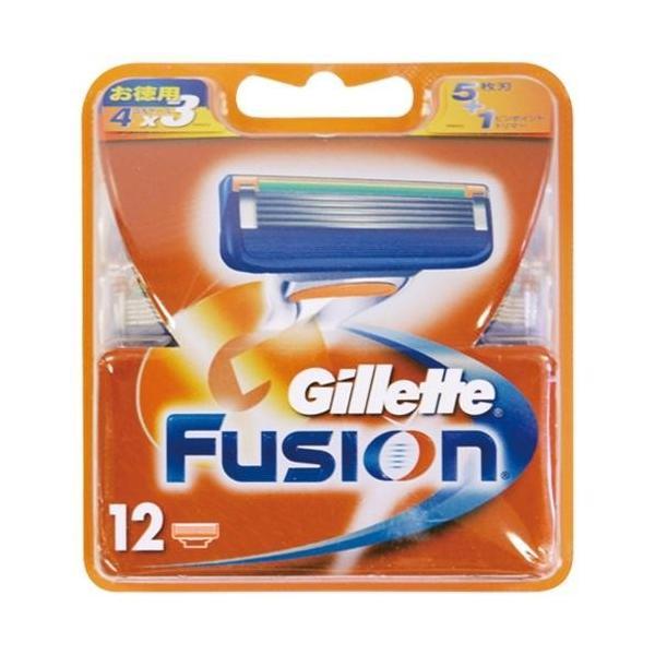 P&G ジレット フュージョン 5+1 替刃12個入 カミソリ