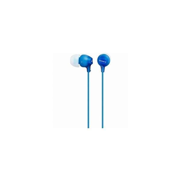 ソニー ステレオヘッドホン MDR-EX15LP LI ブルーの画像
