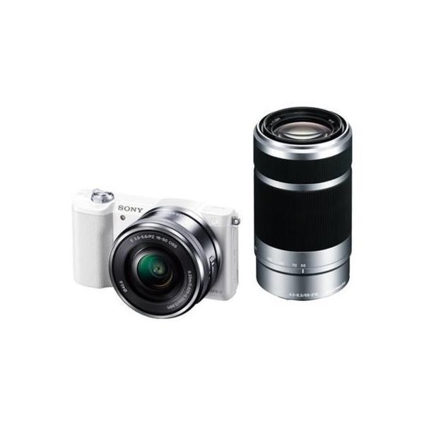 ソニー α5100 ILCE-5100Y-W(ホワイト) ダブルズームレンズキット