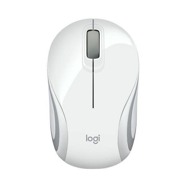 LOGICOOL ロジクール ワイヤレスミニマウス M187rWH M187rWH ホワイトの画像