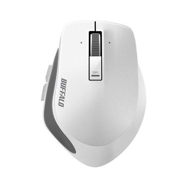 バッファロー 無線 BlueLEDマウス BSMBW500MWH ホワイトの画像
