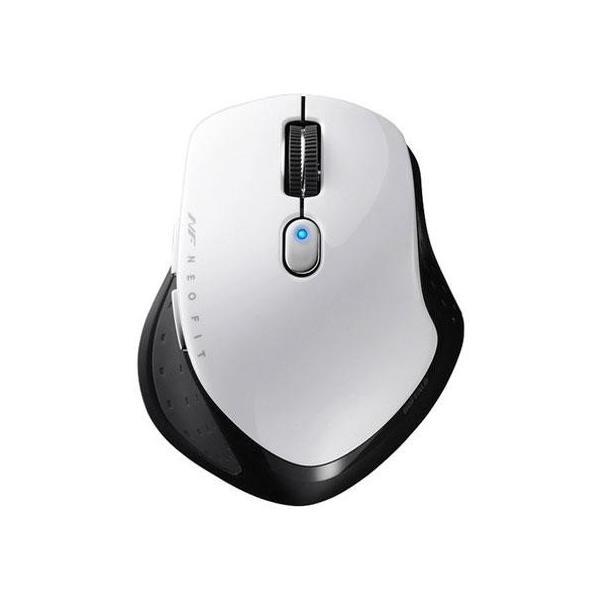 バッファロー 無線 BlueLED 5ボタン マウス BSMBW510SWH ホワイトの画像
