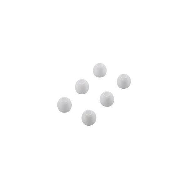 エレコム EHP-CAP20SWH(ホワイト) スペアイヤーキャップ Sサイズ