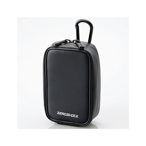 エレコム ZSB-DG014BK(ブラック) ZEROSHOCKカメラケース