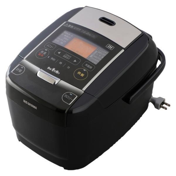 アイリスオーヤマ IH炊飯器 KRC-IC30-B 炊飯容量:3合の画像