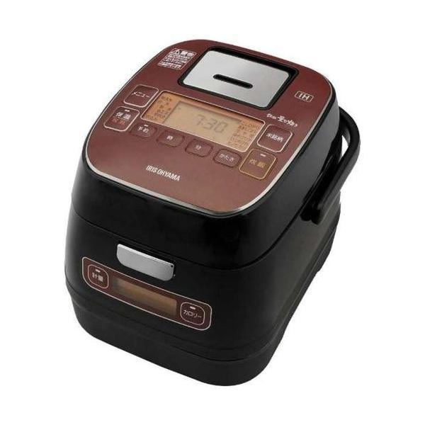 アイリスオーヤマ IH炊飯器 KRC-ID30-R 炊飯容量:3合の画像