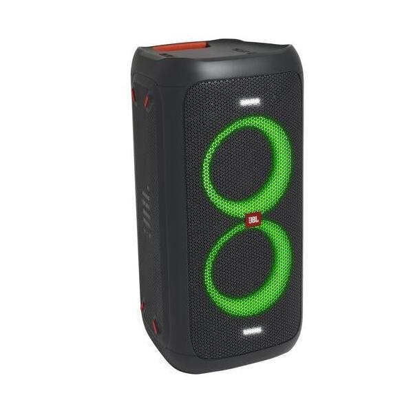 ワイヤレススピーカー ジェービーエル PARTYBOX100 ライティング機能搭載 Bluetoothスピーカー ブラック PARTYBOX100JN ネコポス JBL JBLPARTYBOX100JN