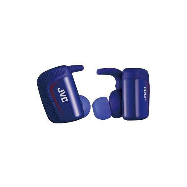 JVC Bluetoothヘッドホン HA-ET900BT-A ブルー防水IPX5対応の完全ワイヤレスイヤホン(ブルー)の画像