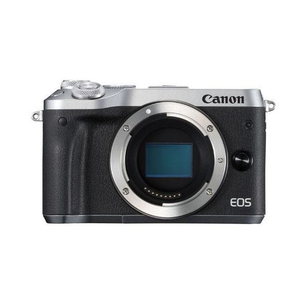 【長期保証付】CANON EOS M6 ボディ(シルバー)