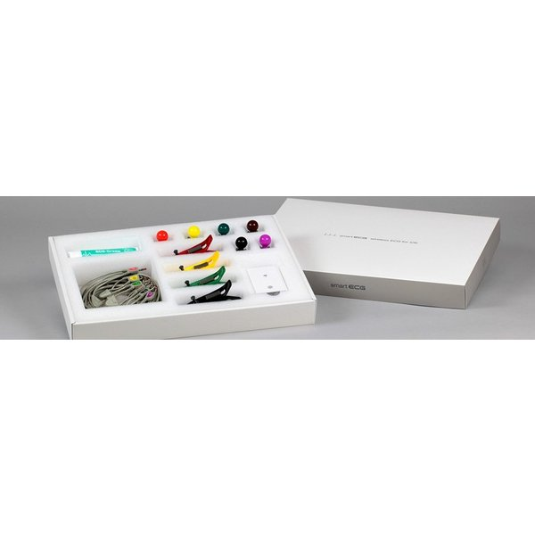 【iPad対応】12誘導心電計smartECG 【WiFi版】 3本型心電誘導コード版|ecglabo|02