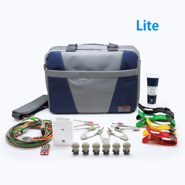 【iPad対応】12誘導心電計smartECG Lite 3本型心電誘導コード版|ecglabo