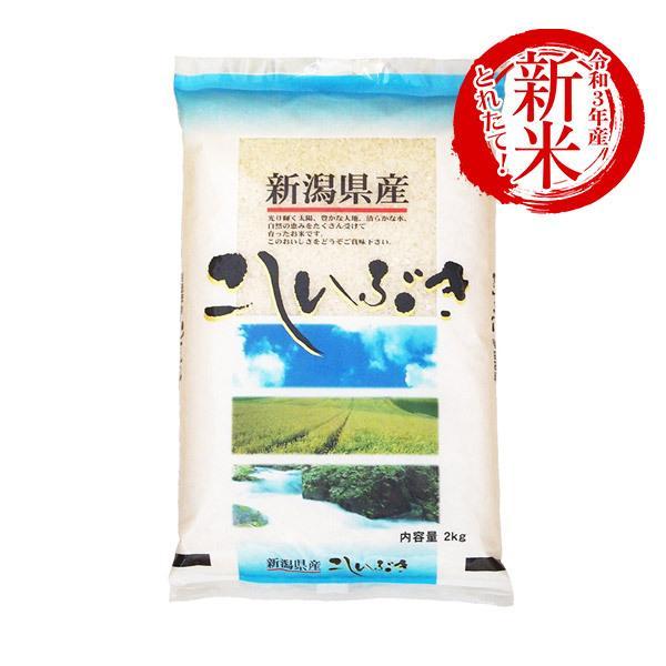 米 2kg こしいぶき 令和2年産 お米 精米 白米 新潟県産