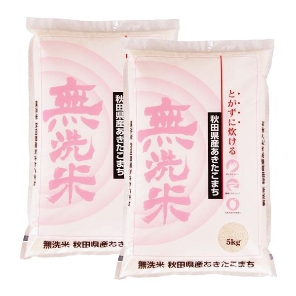 米 10kg 無洗米あきたこまち 秋田県産 お米 10kg 送料無料 令和2年産 精米 白米