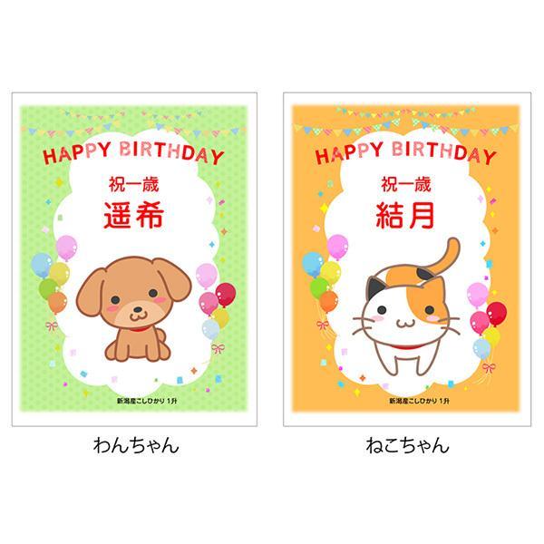 一歳 一升 餅 の代わり 米 新潟産 コシヒカリ 1升米 1.5kg 1 歳 一生|echigo-komesho|10