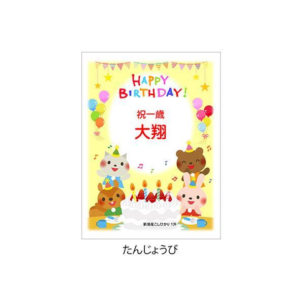 一歳 一升 餅 の代わり 米 新潟産 コシヒカリ 1升米 1.5kg 1 歳 一生|echigo-komesho|13
