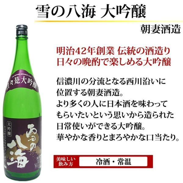 日本酒 大吟醸 飲み比べセット 越乃寒梅 吟醸酒入り 1.8L×5本 超豪華版 送料無料 echigo 10