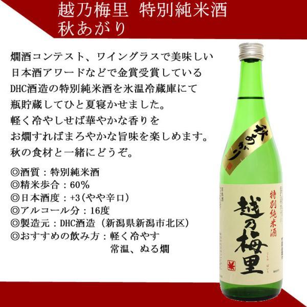 敬老の日 ギフト プレゼント 2020 日本酒 飲み比べ セット ひやおろし 秋のお酒 720ml×5本(第2弾) echigo 08