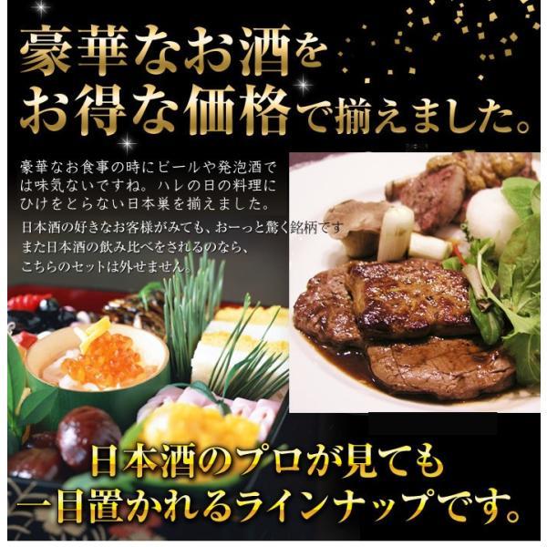 日本酒 飲み比べセット 越乃寒梅 灑入り 純米酒 純米吟醸 1.8L×5本 豪華版福袋|echigo|07