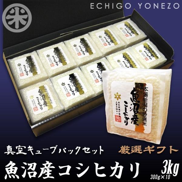 岩船産産コシヒカリ真空キューブ10