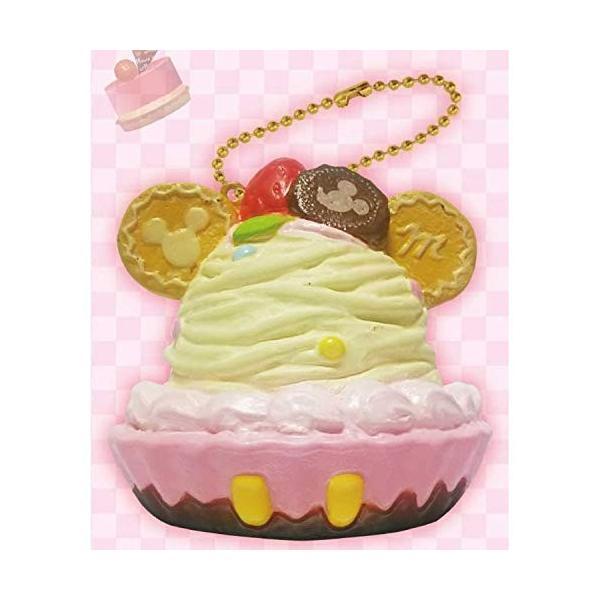 【ディズニーミッキー】ぷにぷにマスコット/ボールチェーン付き(バニラ) タルト Sweets Party 628145