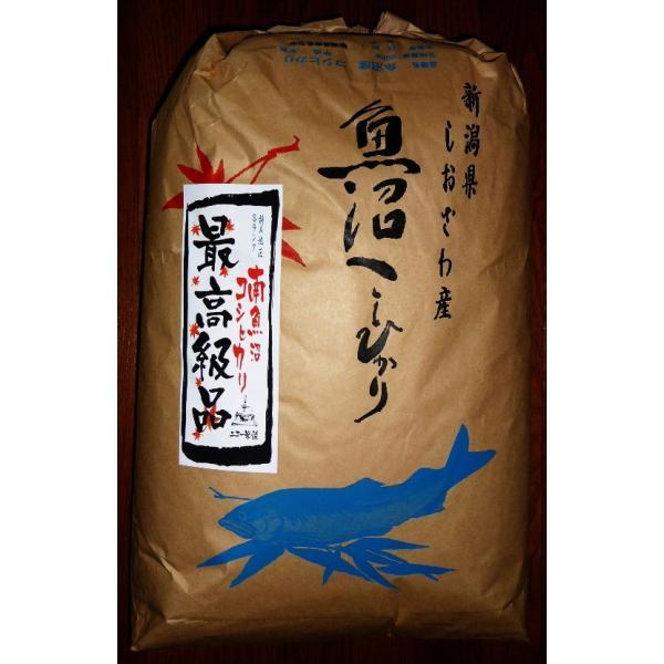 南魚沼産しおざわ コシヒカリ 最高級品 食味最高Sランク 玄米 30kg 送料無料