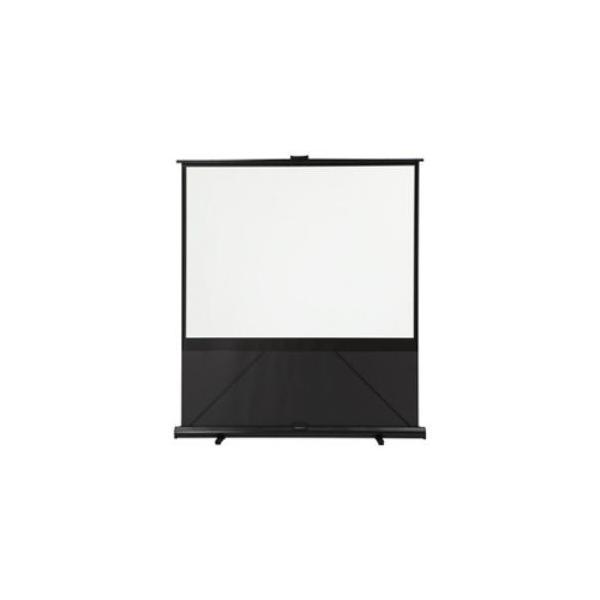 キクチ GFP-80HDW フリーストップ機構付き床置き自立型スクリーン 幕面ホワイトマット仕様 80型ハイビジョンサイズ