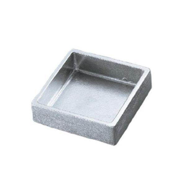 ノーブランド アルミダイキャスト 灰皿 AL-1030-1 シルバー 4474000 1個