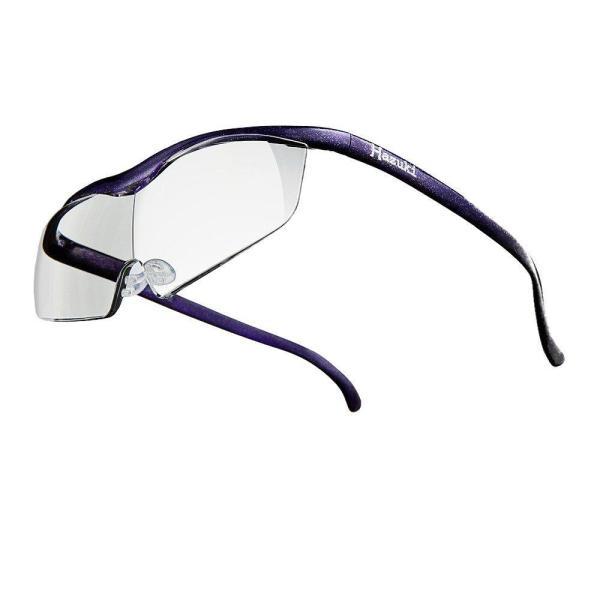 ハズキ(Hazuki) ハズキルーペ ラージ クリアレンズ 1.32倍 紫 正規品保証付 2017年モデル ブルーライトカット Made in Japan