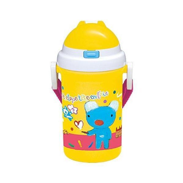 小森樹脂 ペネロペ ストロー付きプラボトル 食洗機対応(1コ入)