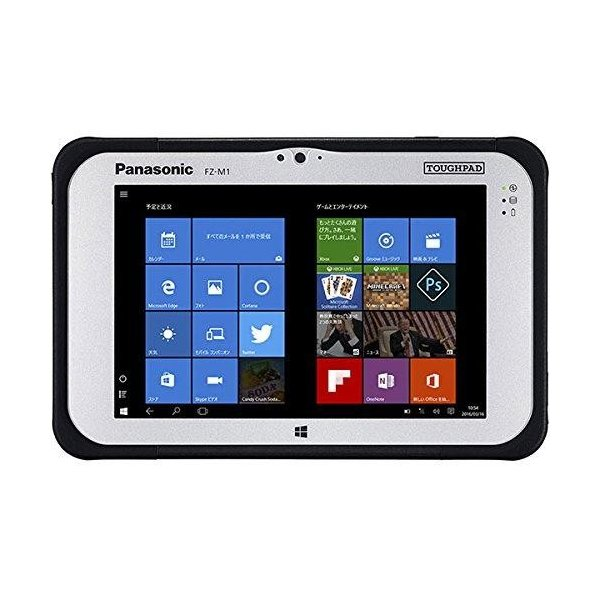 TOUGHPAD FZ-M1 Windows 10 Proタブレット[7型・Atom・ストレージ 64GB・メモリ 4GB]標準モデル FZ-M1D050XVJ ブラックの画像