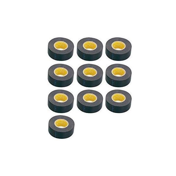 デイトナ ハーネステープ クロ 25ミリX25M 10コ (94126)