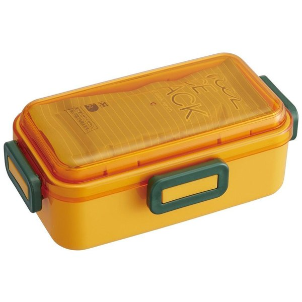スケーター(SKATER) pos.409370 保冷剤付 ふわっと弁当箱 マルシェ かぼちゃ PFLB6C (1121061)