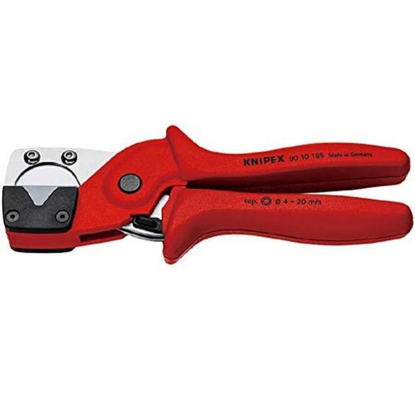 クニペックス KNIPEX 9010-185SB パイプカッター 多層菅・空圧式ホース用 9010-185SB