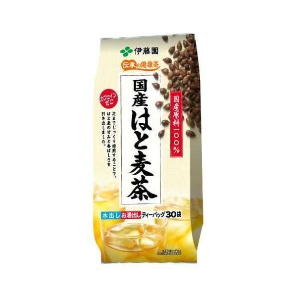 伊藤園 伝承の健康茶 国産はと麦茶 ティーバッグ 30袋 入数:5