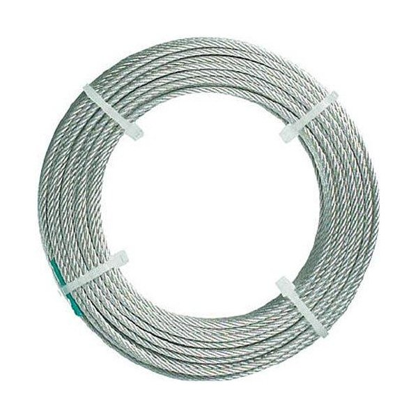 トラスコナカヤマ TRUSCO ステンレスワイヤロープ ナイロン被覆 Φ1.0(1.5)mmX30 CWC1S30