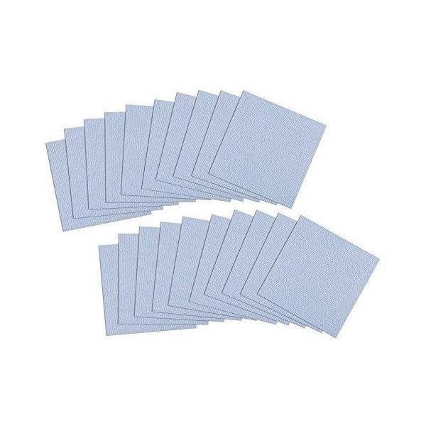 サンコー おくだけ吸着 ペット用撥水タイルマット 30×30cm 同色20枚入 KM-01・BL(ブルー) (1074105)