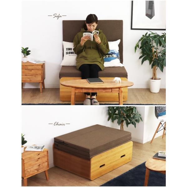 Paper Bed ペーパーベッド 紙ベッド 人気 セミシングル ベッド ソファ 収納|eckagudepo|08