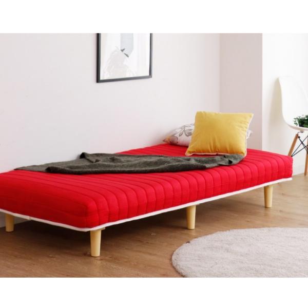 脚付き マットレスベッド シングル 脚付きマット マットレスベッド シングル ベッド 圧縮式 シングルベッド ボンネルコイル マットレス|eckagudepo|14