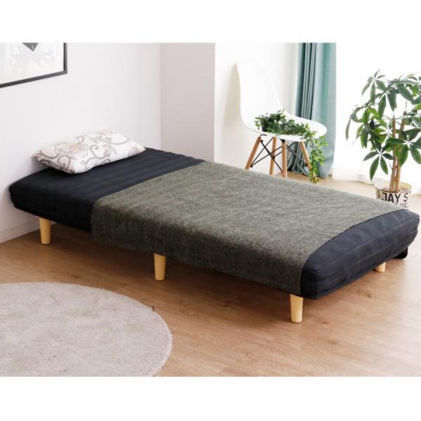 脚付き マットレスベッド シングル 脚付きマット マットレスベッド シングル ベッド 圧縮式 シングルベッド ボンネルコイル マットレス|eckagudepo|15