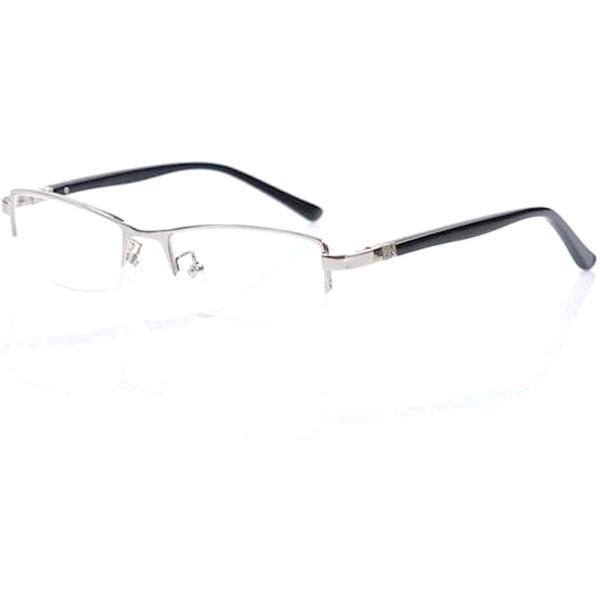 超軽量21g 伊達メガネ ブルーライトカット メガネ PCメガネ メンズ 形状記憶 デザイナーズ ファッション UVカット 眼鏡 ハーフリム おしゃれ メガネケース付|ecloset-store|14