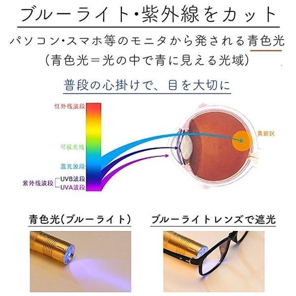 伊達メガネ PCメガネ ブルーライトカット メガネ ボストン型 伊達眼鏡 丸 UVカット 軽量 おしゃれ メンズ レディース 眼鏡拭き ケース 付|ecloset-store|07