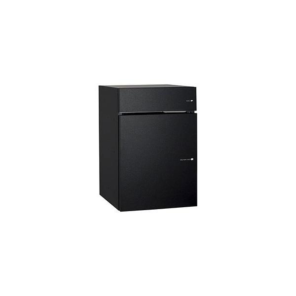 [郵便ポスト・宅配ボックス一体型]ユニソン 戸建用宅配ボックス ヴィコDB60+80 ポスト有り 左開き 前入前出 マットブラック