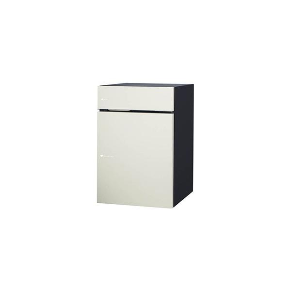 [郵便ポスト・宅配ボックス一体型]ユニソン 戸建用宅配ボックス ヴィコDB60+80 ポスト有り 右開き 前入前出 マットホワイト