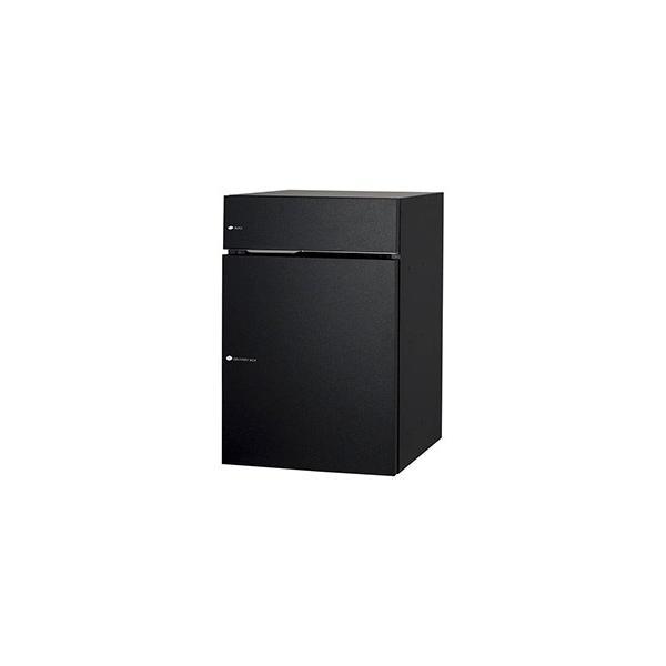 [郵便ポスト・宅配ボックス一体型]ユニソン 戸建用宅配ボックス ヴィコDB60+80 ポスト有り 右開き 前入前出 マットブラック