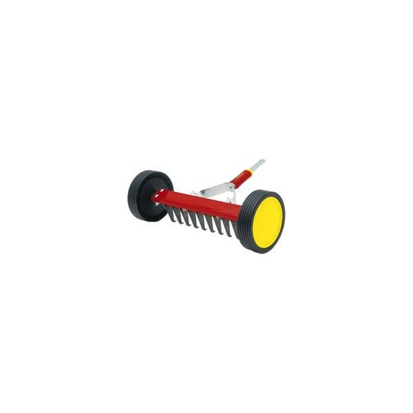 【WOLF Garten】ウルフガルテン ローラー式芝生清掃レーキ UR-M3 ※ハンドル別途
